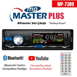 Pioneer Ses Çıkışlı Oto Teyip Masterplus MP-7390